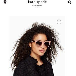 KATE SPADE EMMYLOU PINK/BLACK SUNGLASSES✨⚡️💖
